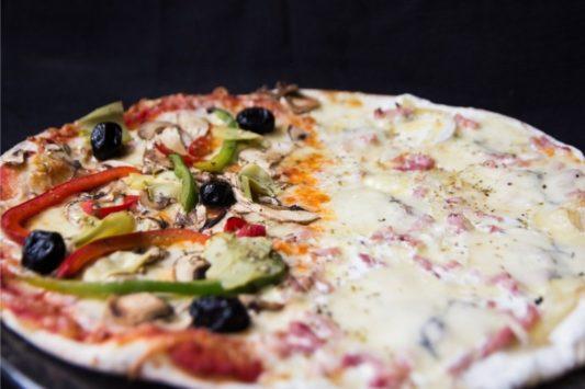 Pizza Moitié-Moitié - Maccenzo