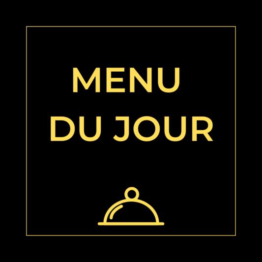 menu du jour - Carte Maccenzo