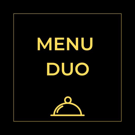 Menu duo - Carte Maccenzo